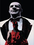 Daredevil Noir No4 Cover: Daredevil and Kingpin