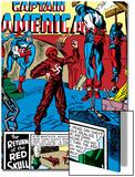 Captain America Comics 3 Cover: Captain America  Bucky and Red Skull