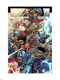 Avengers: The Initiative No19 Group: Spider-Man  Crusader  Captain America  Wolverine and Thor