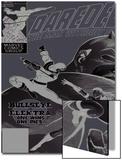 Daredevil No181 Cover: Bullseye  Daredevil and Elektra