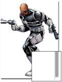 Nick Fury with a Gun