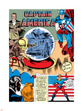 Captain America Comics No1 Cover: Captain America  Bucky  Sando and Omar