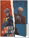 Avengers: The Initiative No29 Cover: Speedball and Penance