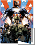 Captain America Theater of War: Ghosts of My Country No1 Cover: Captain America