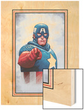The New Invaders No0 Cover: Captain America