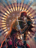 Dark Reign: Elektra No2 Cover: Elektra