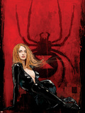 Daredevil No63 Cover: Black Widow