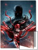 Shadowland: Elektra No1 Cover: Elektra Running