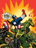 Captain America V4  No29 Cover: Captain America
