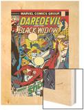 Daredevil No102 Cover: Stiltman  Black Widow and Daredevil