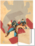 Captain America: White No0 Cover: Captain America and Bucky