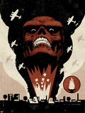 Red Skull No1 Cover: Headshot of Red Skull