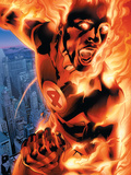 Ultimate Fantastic Four No3 Cover: Human Torch