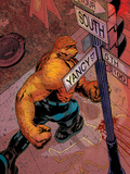 Marvel Knights 4 No4 Cover: Thing