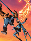 Fantastic Four No514 Cover: Mr Fantastic  Invisible Woman  Human Torch  Thing and Fantastic Four