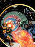 Marvel Adventures Fantastic Four No25 Cover: Human Torch