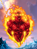 Human Torch No11 Cover: Human Torch