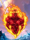 Human Torch No11 Cover: Human Torch