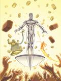 Marvel Adventures Fantastic Four No28 Cover: Silver Surfer