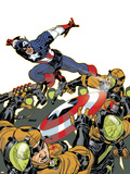 Captain America V4  No26 Cover: Captain America