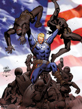 Steve Rogers: Super-Soldier No2 Cover: Steve Rogers