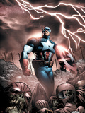 Captain America And The Falcon No9 Cover: Captain America