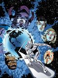 Marvel Adventures Fantastic Four No26 Cover: Silver Surfer
