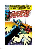 Daredevil No166 Cover: Daredevil and Gladiator Fighting