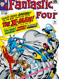 The Fantastic Four No28 Cover: Mr Fantastic