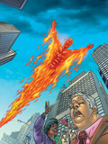 Human Torch No10 Cover: Human Torch