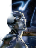 Ultimate Fantastic Four No43 Headshot: Silver Surfer