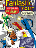 The Fantastic Four No20 Cover: Mr Fantastic