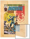 Daredevil No160 Cover: Bullseye  Black Widow and Daredevil Charging