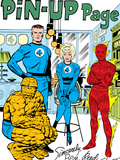 The Fantastic Four No15: Mr Fantastic  Invisible Woman  Human Torch  Thing and Fantastic Four