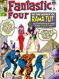 The Fantastic Four No19 Cover: Mr Fantastic