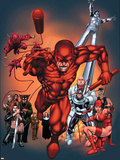The Official Handbook Of The Marvel Universe: Daredevil 2004 Cover: Daredevil