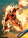 Ultimate Fantastic Four No54 Cover: Human Torch