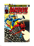 Daredevil No161 Cover: Daredevil  Bullseye and Black Widow