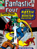 Fantastic Four No40 Cover: Dr Doom