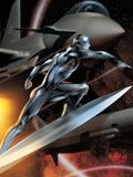 Ultimate Fantastic Four No44 Cover: Silver Surfer