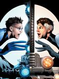 Ultimate Fantastic Four No21 Cover: Mr Fantastic Charging