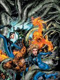 Marvel Adventures Fantastic Four No6 Cover: Mr Fantastic