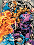Fantastic Four No570 Group: Human Torch  Invisible Woman  Thing and Mr Fantastic