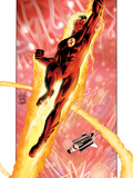 Ultimate Fantastic Four No16 Cover: Human Torch