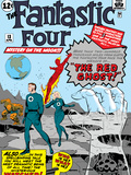 The Fantastic Four No13 Cover: Mr Fantastic