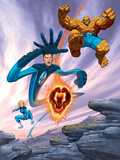 Ultimate Fantastic Four No6 Cover: Thing