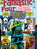 The Fantastic Four No3 Cover: Mr Fantastic
