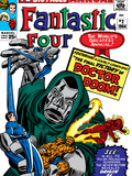Fantastic Four Annual No2 Cover: Dr Doom