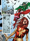 Fantastic Force No2 Group: Phoenix  Scarlet Witch and Polaris