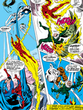 What If No1 Group: Human Torch  Spider-Man  Mr Fantastic  Thing  Vulture and Fantasticar